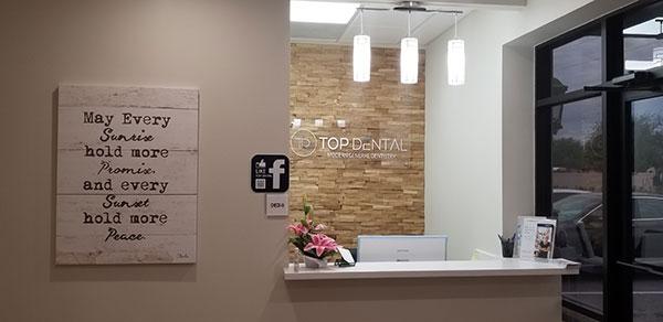 Top Dental Reception Desk
